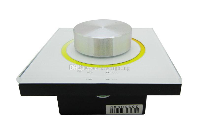 RF 2.4G + DMXTemperature Dimmer Dimming Knob Panel Led Controller DX62