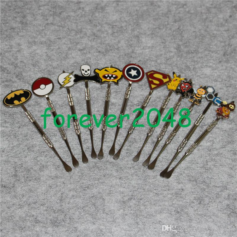 New Trendy Personalized Dab Rig Tool for Wax Multi Colors Cool Design Electric Dab Rig Nail Wax Carving Dabber Tool Wholesale