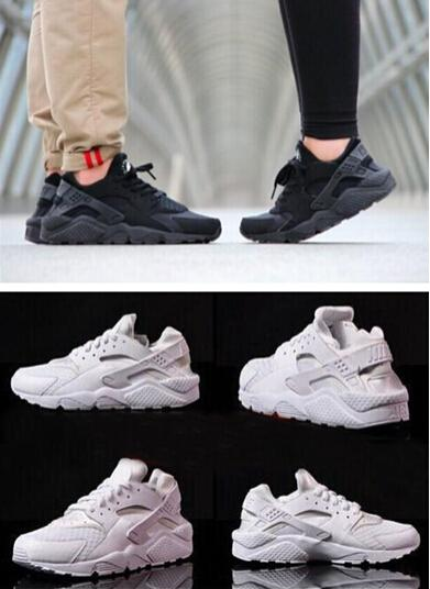 2016 New Famous Air Huarache Shoes Unisex Men Women Sports Running Shoes  All Black White Size 5.5 11 36 45 Waterproof Running Shoes On Running Shoes  From ... df7967107
