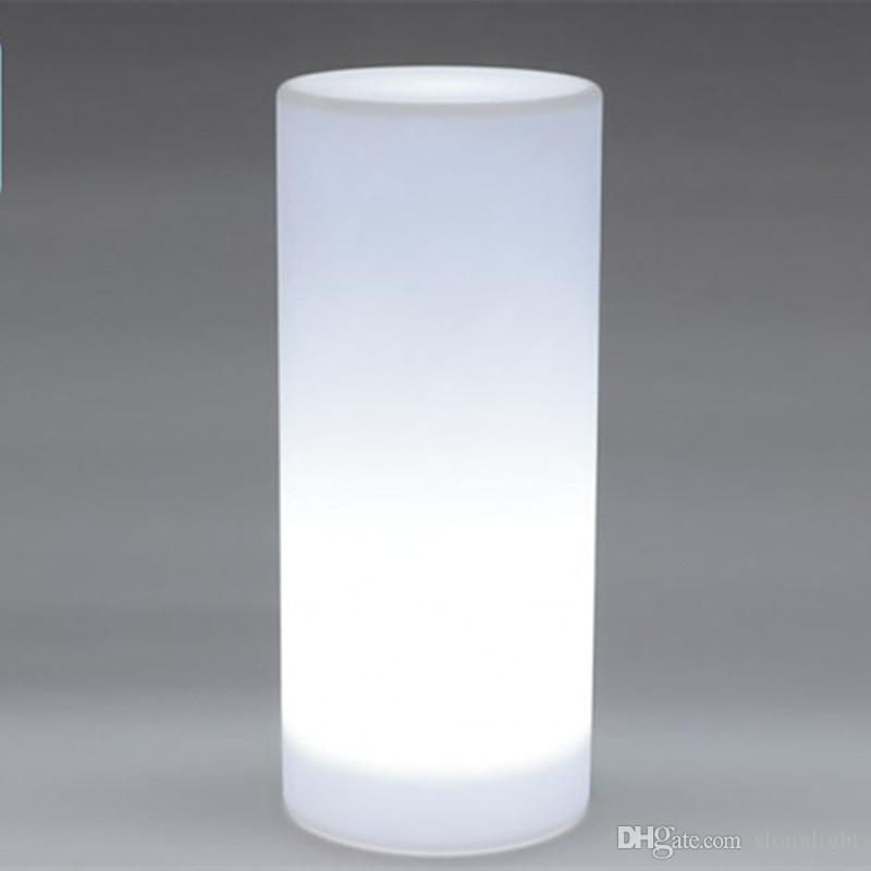 Online cheap waterproof multi color height36 cm led small tower online cheap waterproof multi color height36 cm led small tower pillar floor lamp outdoor round column lights of landscape lighting by slonglight dhgate aloadofball Gallery