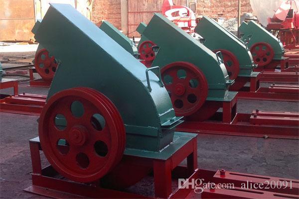 تصنيع المصنع مباشرة القرص آلة تقطيع الأغصان للبيع / آلة كسارة الخشب