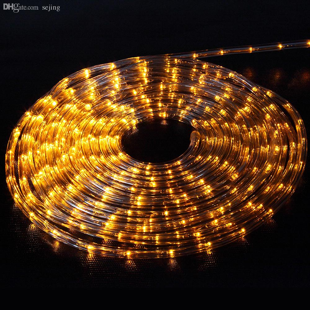 Cheap String Lights Indoor: Wholesale 10mled Flexible Rope Light Indoor / Outdoor