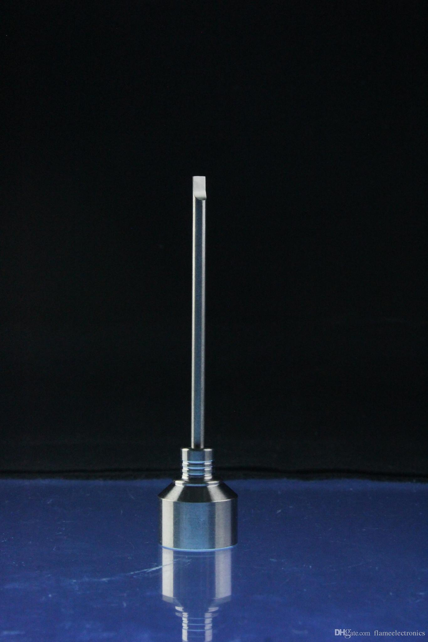 Титан карбюратора крышка инструмент 10мм 14мм 18мм domeless ногтей domeless Титан ногтей gr2 Титан ногтей оценка 2 Титана Ti ногтей для стекла Бонг