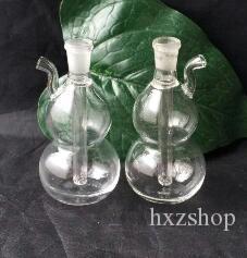 Zucca narghilè, pipa di acqua di vetro Pipa di fumo Percolatore di vetro Bong Bruciatore d'olio Tubature d'acqua Rigs d'olio Fumo