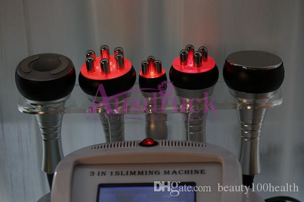 mini Vacuum Radio Frequency Cellulite red photon Ultrasonic Cavitation RF Slimming machine wrinkle removal beauty equipment