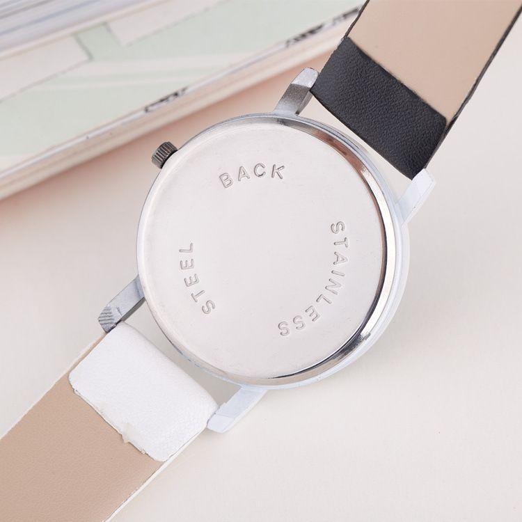 New men gift Enmex neutral coil hands design wristwatch creative dial breathe freely strap simple fashion quartz watches