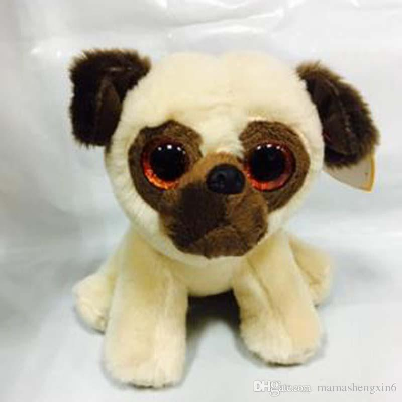 Fashion cute plush toys big eyes animals pugs dog bear goat lovey animal plush doll birthday gifts stuffed animals plush toys