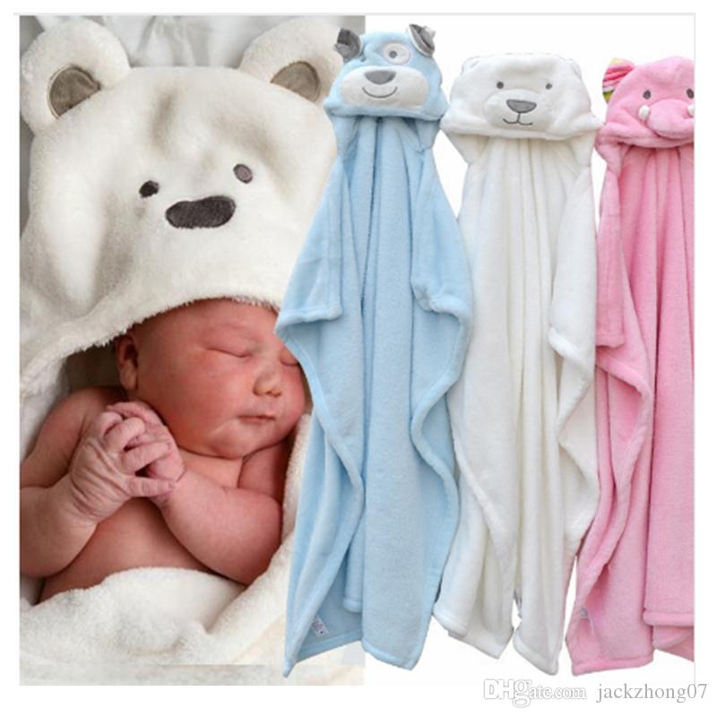 Sporting 70cm Baby Cotton Hooded Animal Baby Bathrobe Soft Children Towel Cartoon Animal Shape Children Bath Towel Baby Towel 2019 Customers First Mother & Kids