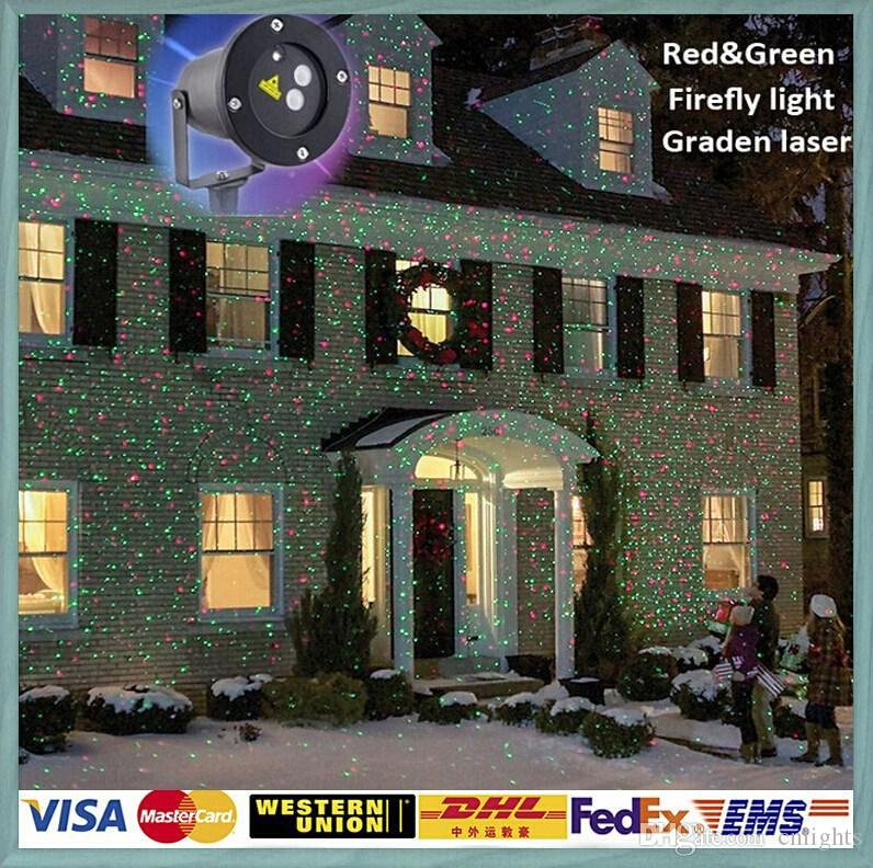 Outdoor IP65 Waterproof Laser Stage Light,Elf Light Christmas Lights ...