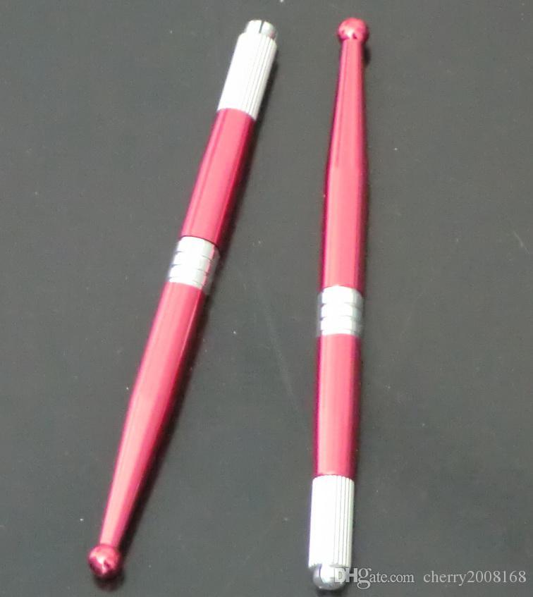 30 قطع جديد وصول الوشم مصنع الجملة المهنية دليل الوشم ماكياج الحواجب الدائم القلم الأزرق الأحمر مختلط اللون