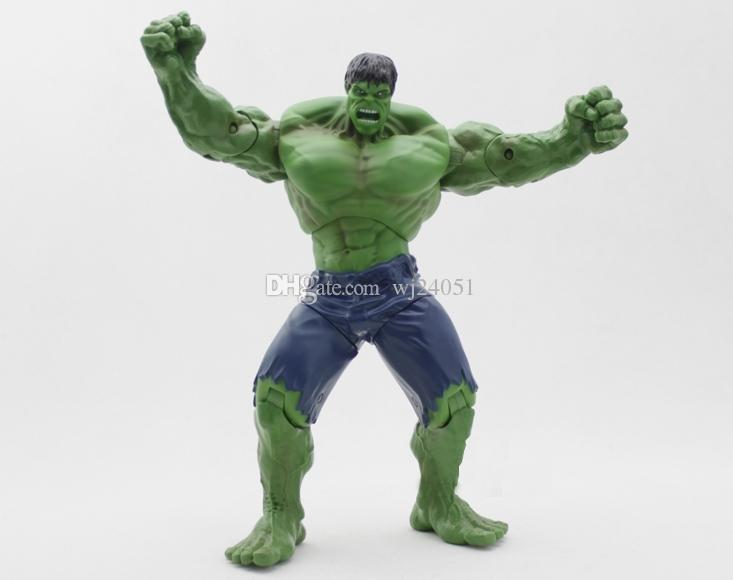 "2015 The Avengers Marvel Super Hero Incredible The Hulk Action Figure Toy 10 ""26cm"