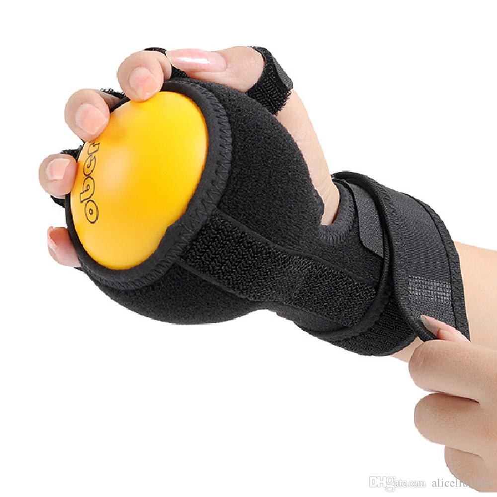 Anti-Spasticity Ball Splint Hand Functional Impairment Finger Orthosis Hand Ball Rehabilitation Exercise