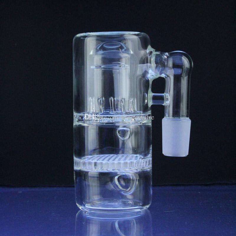 Соты брызговик стекло Золоуловитель 18 мм совместный размер для стекла бонги водопроводные трубы стеклянные нефтяные вышки воды бонги перколятор
