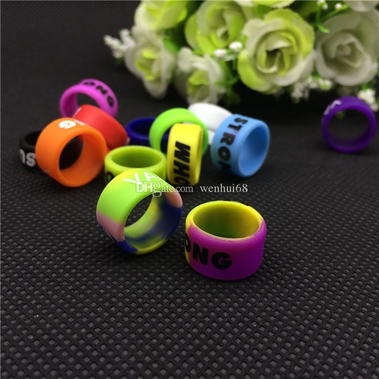 cinturini in ecig 13mm vape ring batterie serie ego bande decorative e di protezione vape ego vision spinner II evod