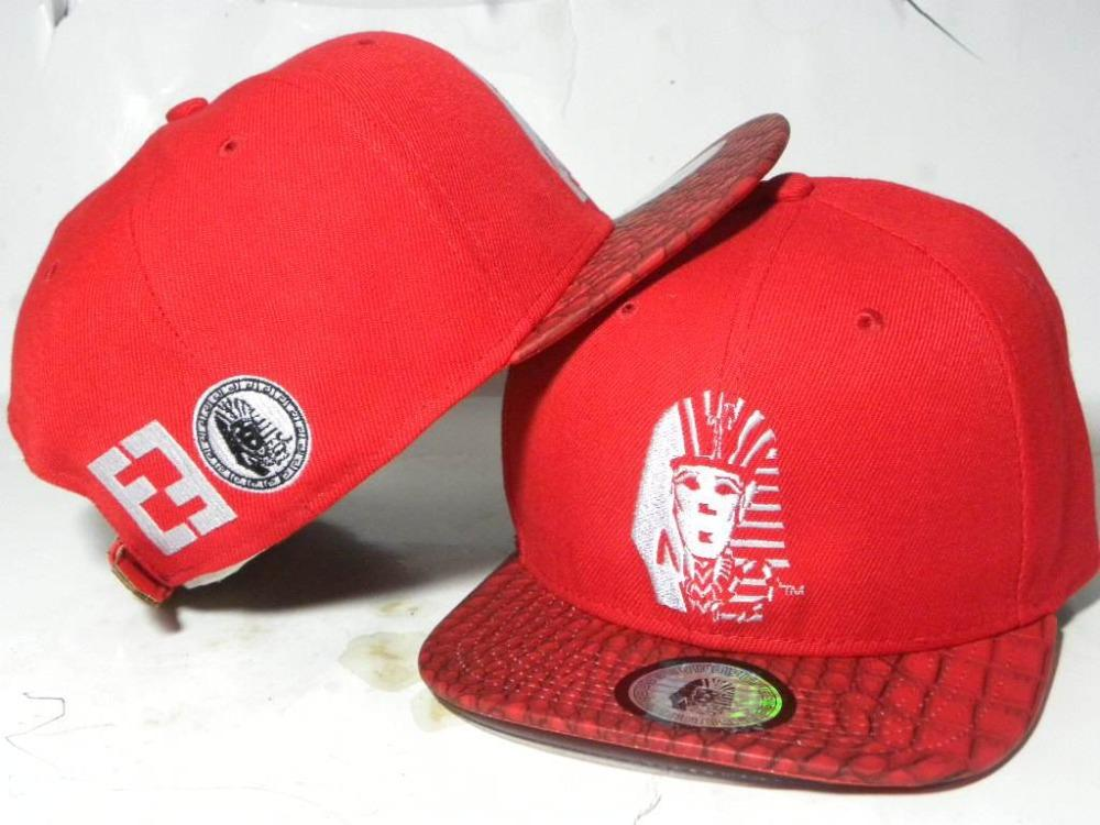 2b77933799d Hot Fashion Spring Last Kings Snapback Caps Red with Snakeskin ...