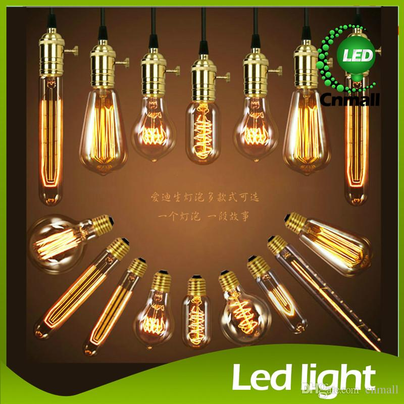 Edison antique chandelier bulb light antique vintage edison light edison antique chandelier bulb light antique vintage edison light bulb 40w 220v edison bulb incandescent bulbs pendant lamp wall light bulb infrared light aloadofball