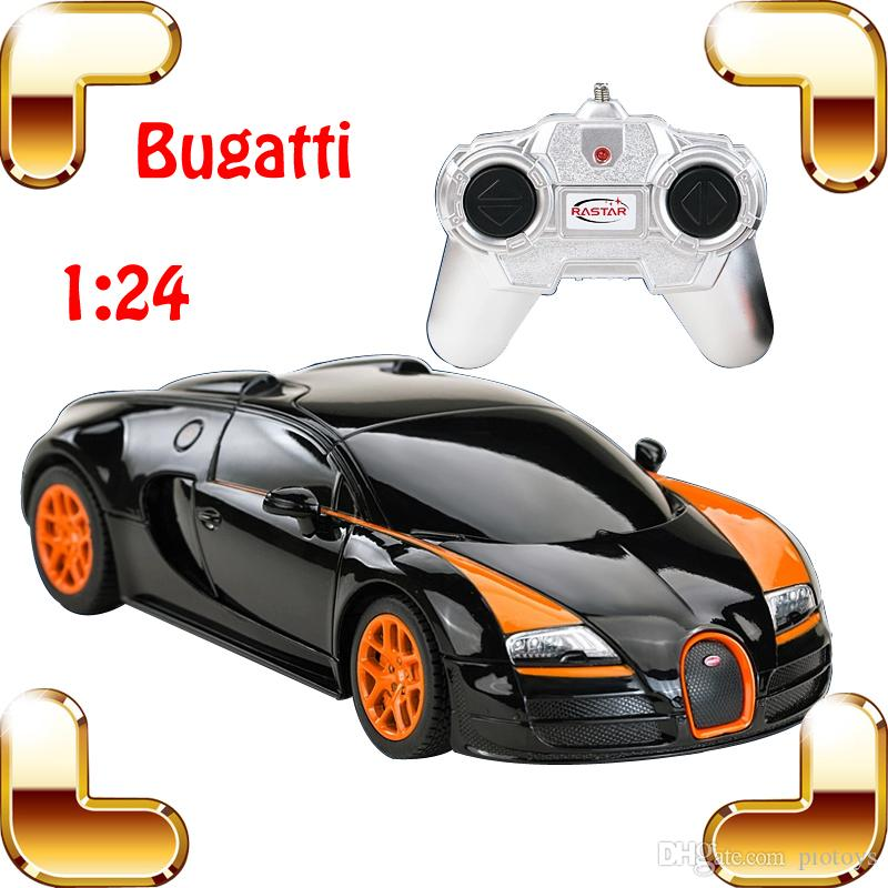 hotsale gift 1 24 bugatti rc car road king model racing speed voiture auto vehicle color gift for boy kids toy race
