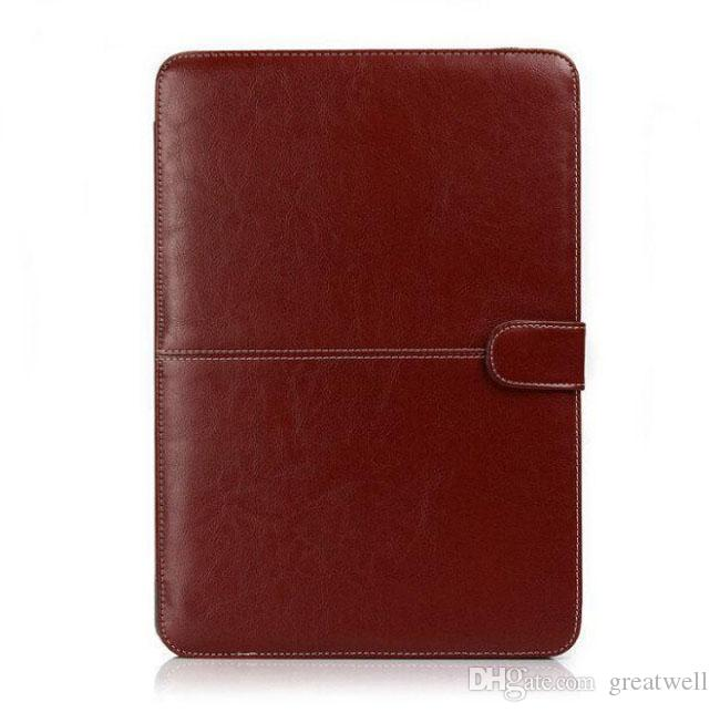 Mode pu leder laptop case für neue macbook air pro retina 11,6 12 13,3 15,4 zoll ultrabook notebook tasche