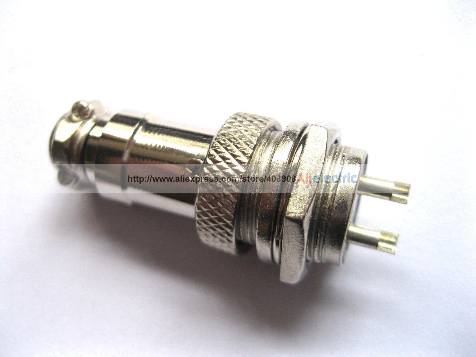 Großhandel 20 Stück Xlr 16mm 2 Pin Audio Kabelstecker Chassis Mount ...