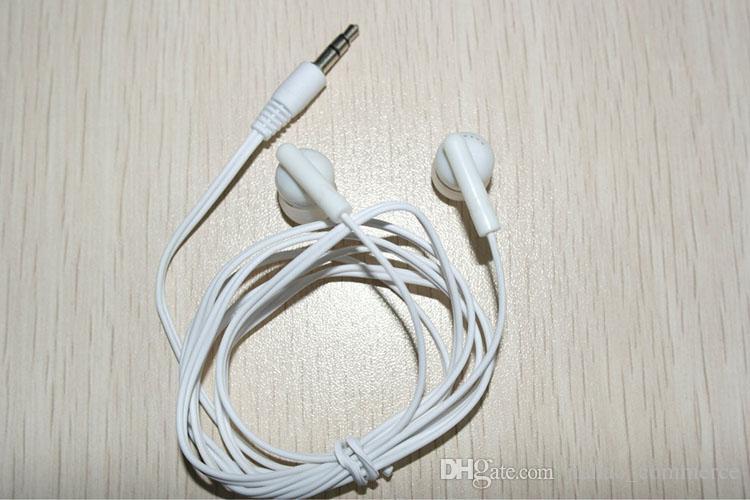 Universal Billigaste / Black In-Ear Earbuds Hörlurar För Smart Telefon, Mobiltelefon Hörlurar MP3 MP4 3.5mm Audio