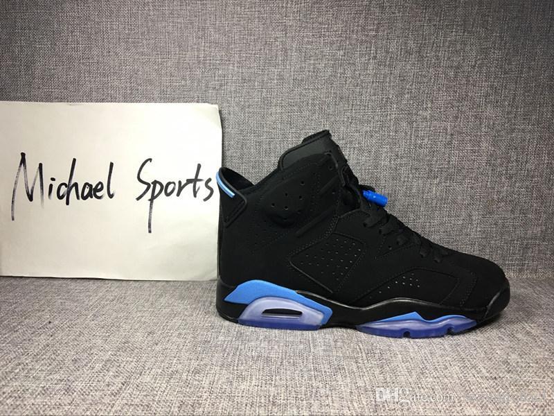 Clássico 6 6 s UNC preto infravermelho azul tênis de basquete das sapatilhas dos homens das mulheres de alta baixo branco de golfe GS tamanho 5.5-13 Alta Qualidade versão