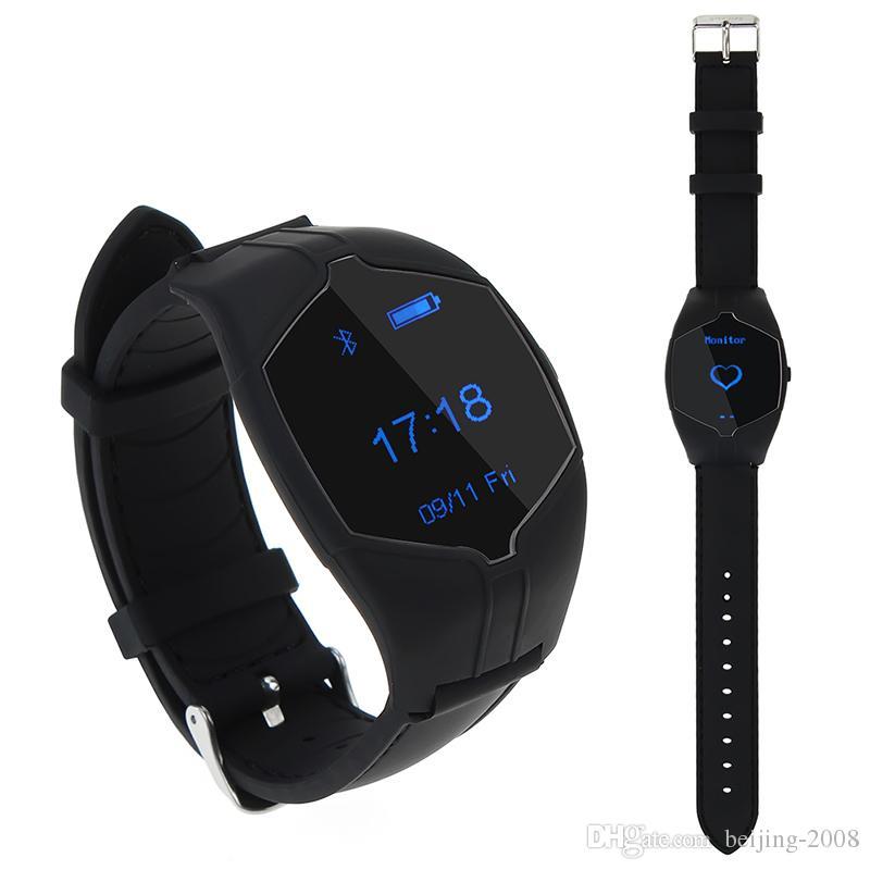 X6 montre intelligente horloge de poignet avec moniteur de mesure de fréquence cardiaque professionnel moniteur de sommeil podomètre pour smartphone 010222