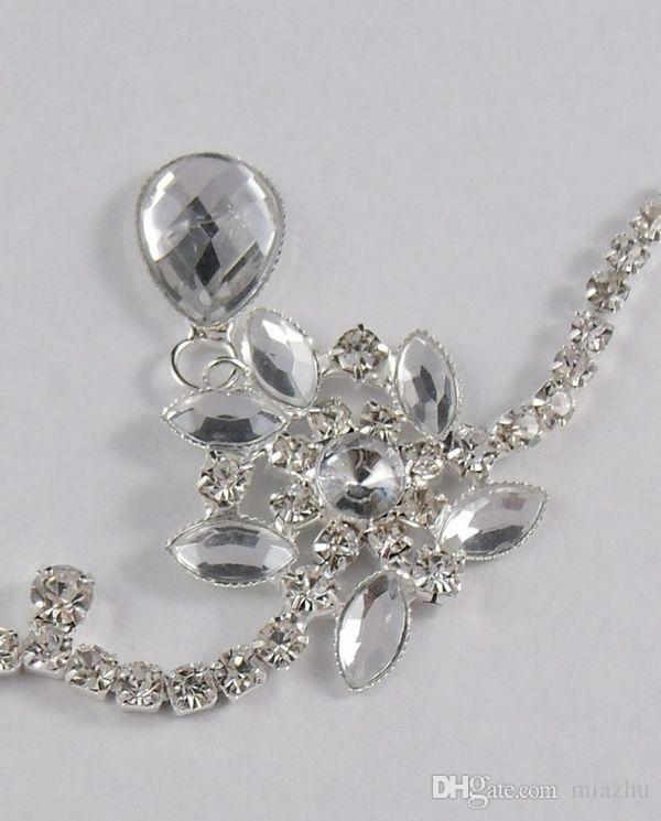 Сверкающие кристаллы свадьба Hairband свадебная вуаль стразы оголовье свадебные аксессуары для волос заколки заколки свадебные волосы когти