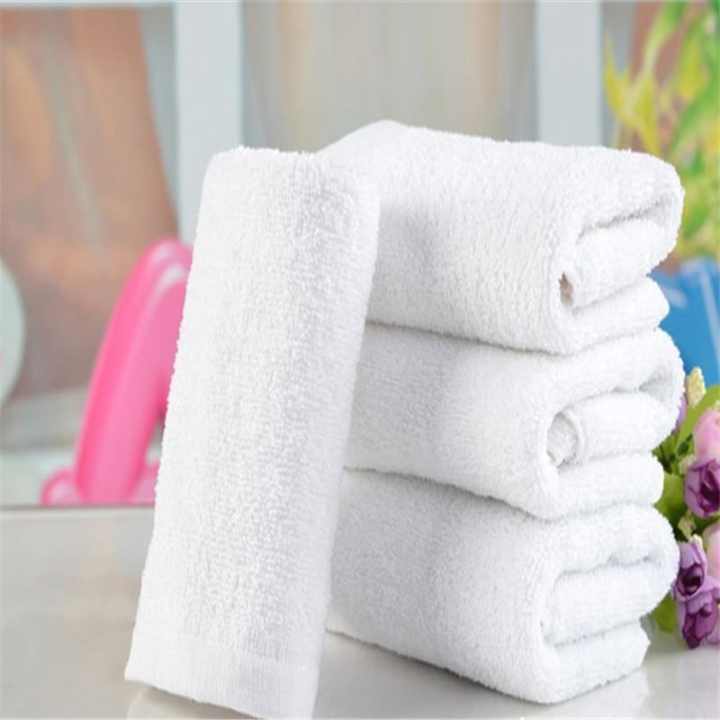 2018 Wholesale High Quality Soft Pure White Baby Towel Baby Bath ...