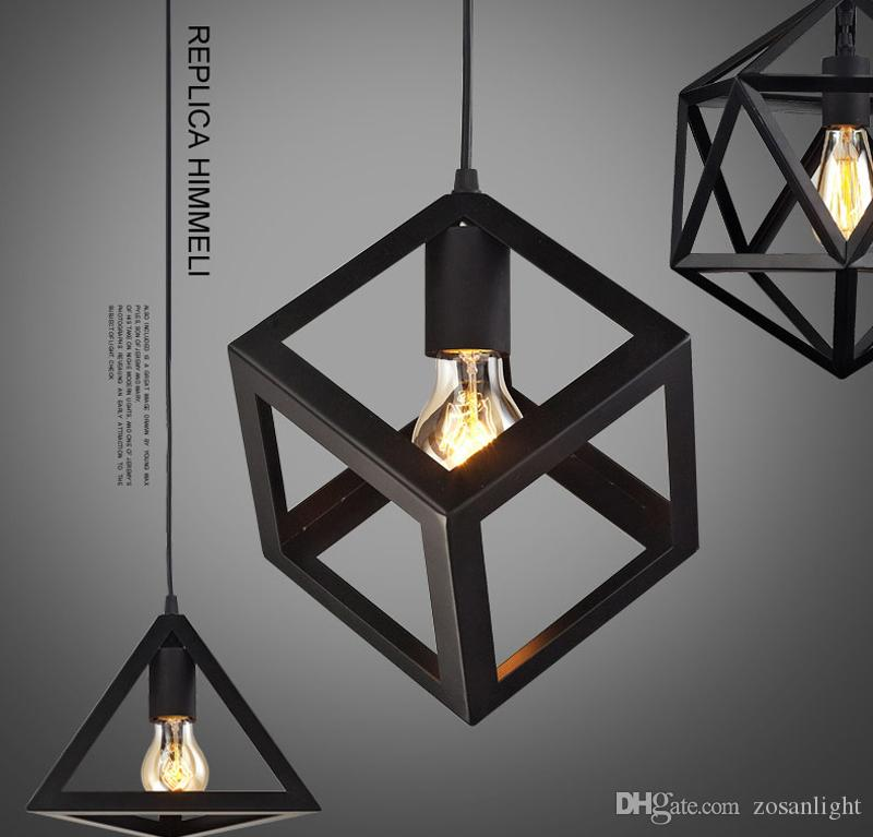 Vintage industrial Pendant lamps Competitive E27 E26 Loft American Country Pendant Lamps Fit for Mall Iron Retro ty-026