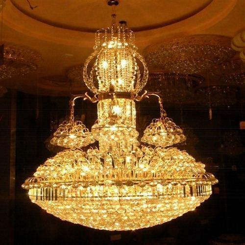 Superior hotel grand crystal chandeliers living room chandelier see larger image aloadofball Images