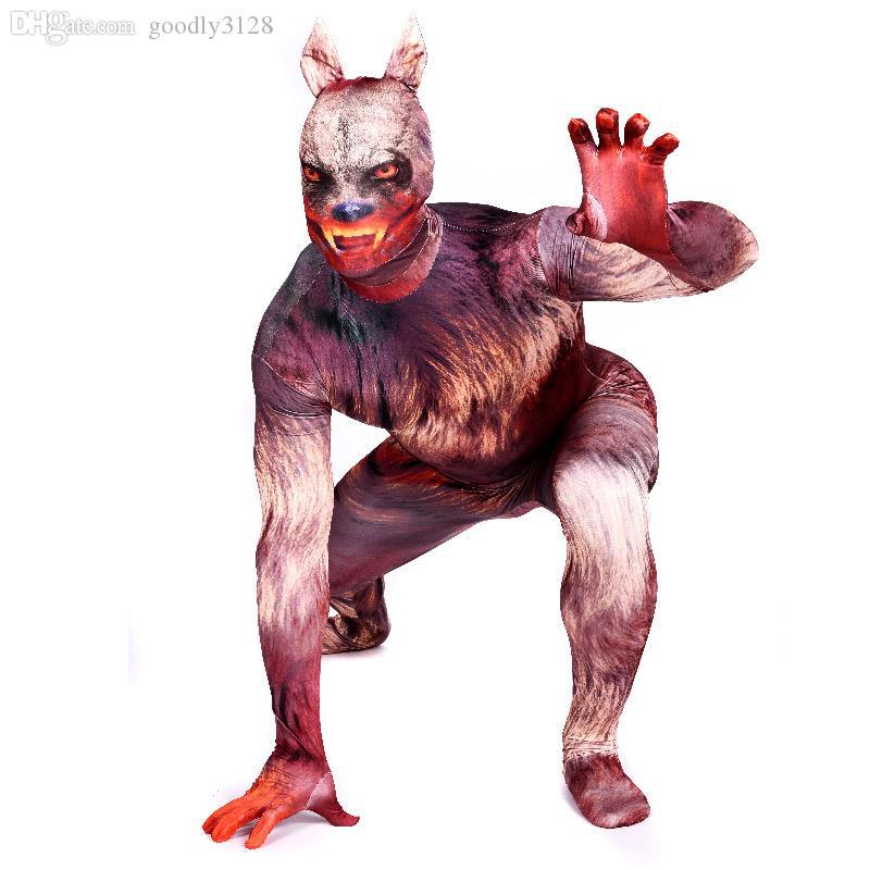 Discount Wholesale Werewolf Costume Adult Werewolf Cosplay Garou ...
