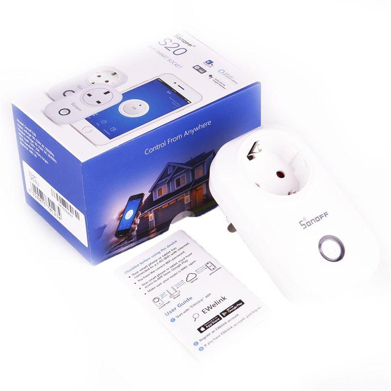 Itead Sonoff S20 Smart Wifi Socket Switch Us Eu Plug Remote Control ...