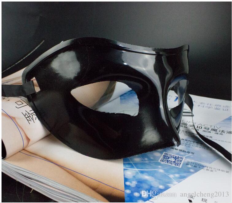 Mardi Gras Masquerade Kobiety i Mężczyźni Masquerade Maska Party Costume Christmas Halloween Maska Multi-Color czarny, biały, złoty, srebrny
