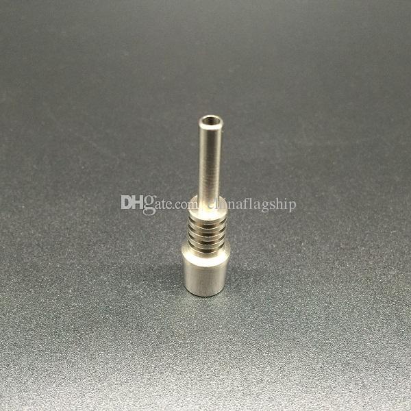 DHL 무료 10MM 또는 14MM 또는 18MM 티타늄 네일 거꾸로 못 GR2 Glass water pipes 용 티타늄 팁 Bong Oil Rigs