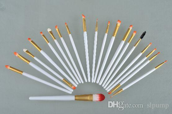 20 Stücke kits Professionelle make-up pinsel lidschatten lip pinsel Superior Weiche pincel kabuki kit set Kosmetik maquiagem make-up pinsel set