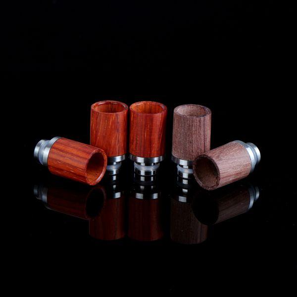 Newest 510 Drip Tips wood style drip tips dct protank vivi nova evod atomizer mouthpieces e cig rba rda vaporizer mod e cigarettes