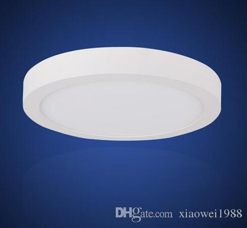 2016AC85-265V 9W 15W 25W Surface mounted led downlight Dimmable led panel light SMD2835 Ultra thin circle ceiling Down lamp kitchen Bathroom