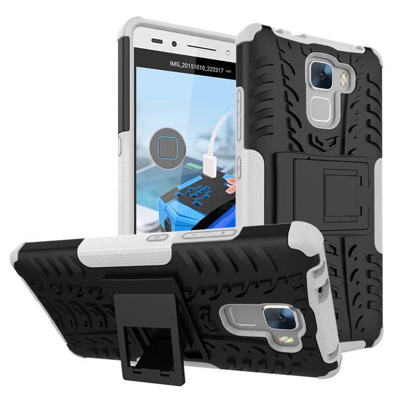 Cover Cellulari Huawei Honor 7 Case Colorful Rugged Combo Hybrid Armor Staffa Fondina Impact Holster Custodia Protettiva Huawei Honor 7 Custodia ...
