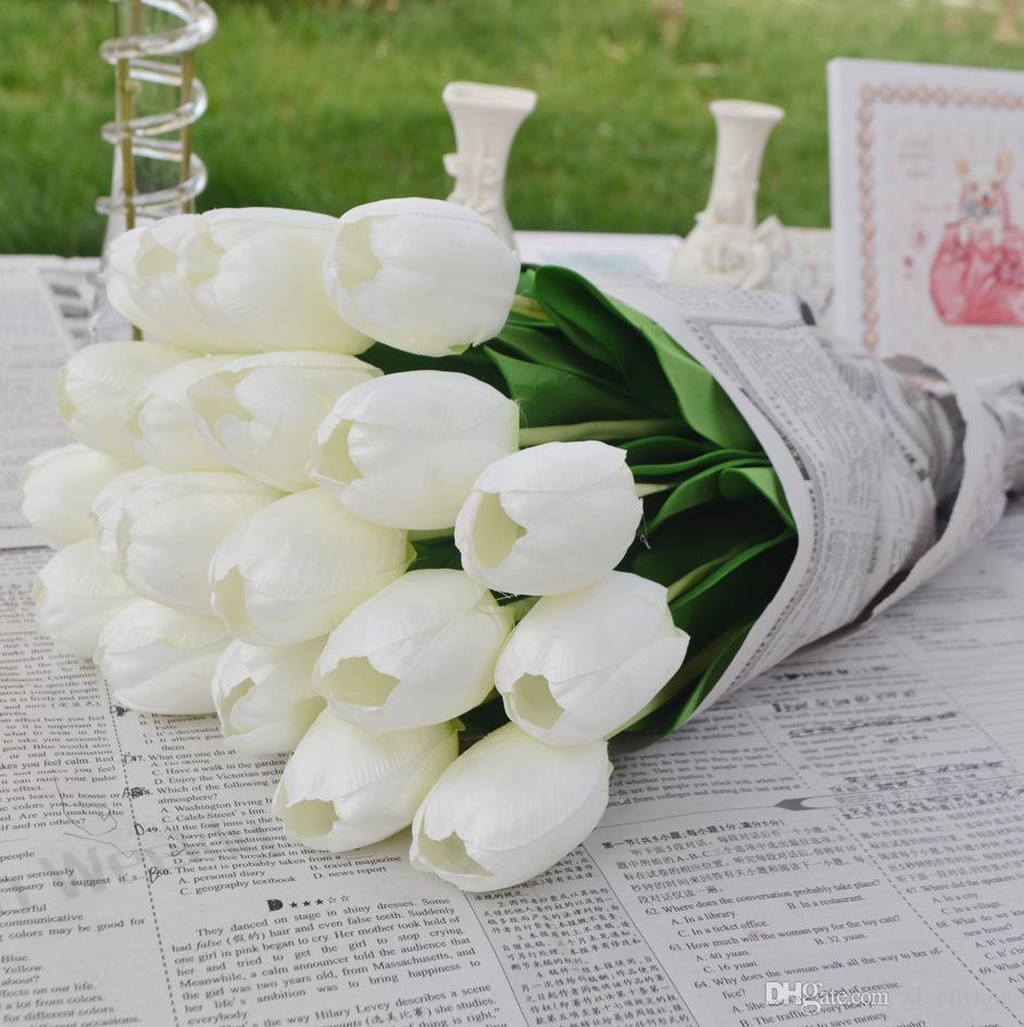Tulip flower for wedding centerpiece decorative artificial tulip tulip flower for wedding centerpiece decorative artificial tulip flowers party decoration home garden and desktop decoration tulip tulip tulip online with izmirmasajfo