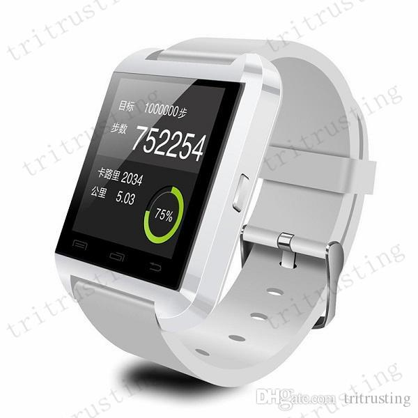 U8 Smart Bluetooth Watches WristWatch U8 U Watch for iPhone Samsung S4/S5/Note 2/Note 3 HTC Android Phone Smartphones MQ200