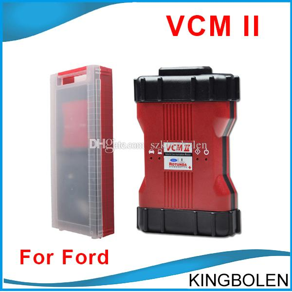 VCM II IDS With 21 languages OBD II Diagnostic Tool VCM2 VCM 2 V96 Ford  Mazda Diagnostic tool High Quality DHL Free Shipping