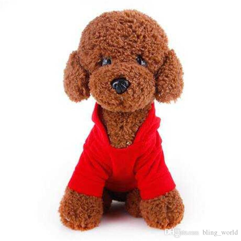 2018 dog sweatshirt dog out sweatshirt puppies pet christmas clothes teddy pet dog new year clothes puppy warm coat legs lovely cloth ldh52 from bling_world
