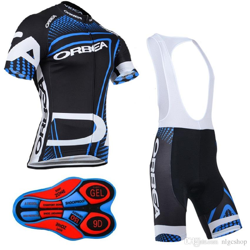 da9a86b22 2017 Orbea Pro Team Cycling Jersey Set Cycling Shorts Bib Breathable  Mountain Bike Clothes Quick Dry Bicycle Sportswear Cycling Short Sleeve Cycling  Gear ...