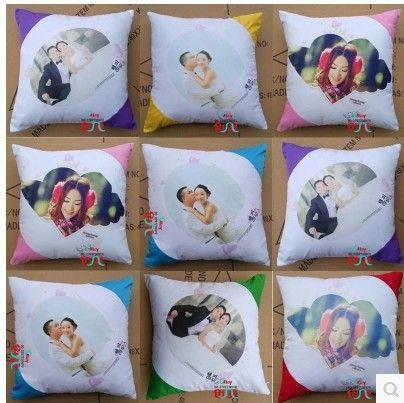 Blank Cushion Cover Pillow Case 40 40 Cm 50 50 Cm Four