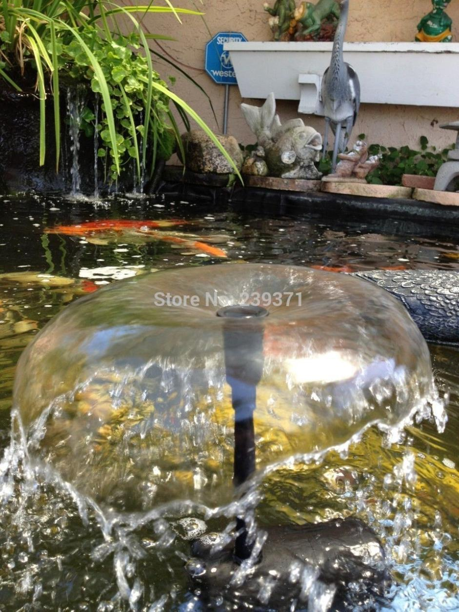 Best Quality Aquarium Submersible Solar Pump For Water Cycle/Pond  Fountain/Rockery Fountain Garden Cooling Air Pumps Pool Water Garden Panel  At Cheap Price, ...