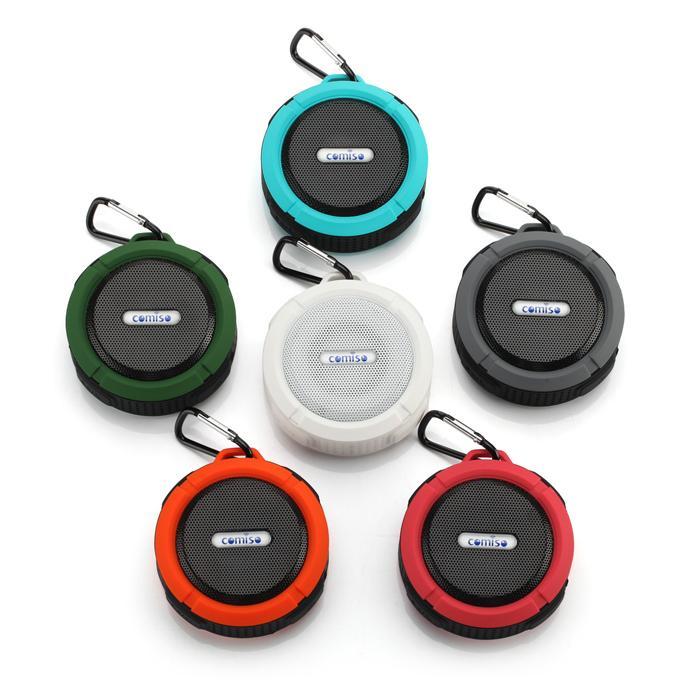 미니 C6 IPX7 야외 스포츠 샤워 방수 무선 블루투스 스피커 흡입 컵 핸즈프리 마이크 음성 상자 iPhone6 플러스 HTC 삼성 S6