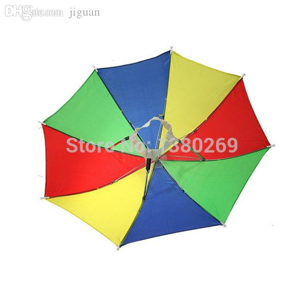 009a74307a5 Wholesale-Foldable Sun Umbrella Hat Golf Fishing Camping Headwear Cap Head  Hats Outdoor H6p Hat Camera Cap Perfume Hats Vans Online with  21.95 Piece  on ...