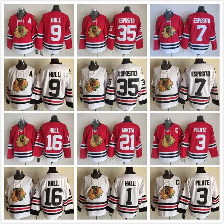 ... low price mens chicago blackhawks jerseys ccm red classic throwback 9  bobby hull 21 stan . e8fc53fa8