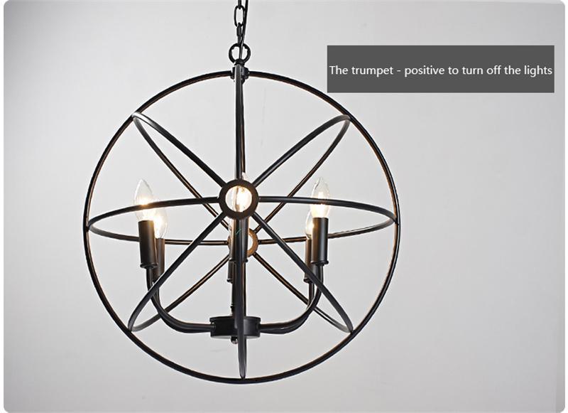 110V 220V Voltage Pendant Lamps Halogen LED Incandescent Pendant Lamps Fit for Living Room E12 E14 Lamp Base 1M Length ty-003