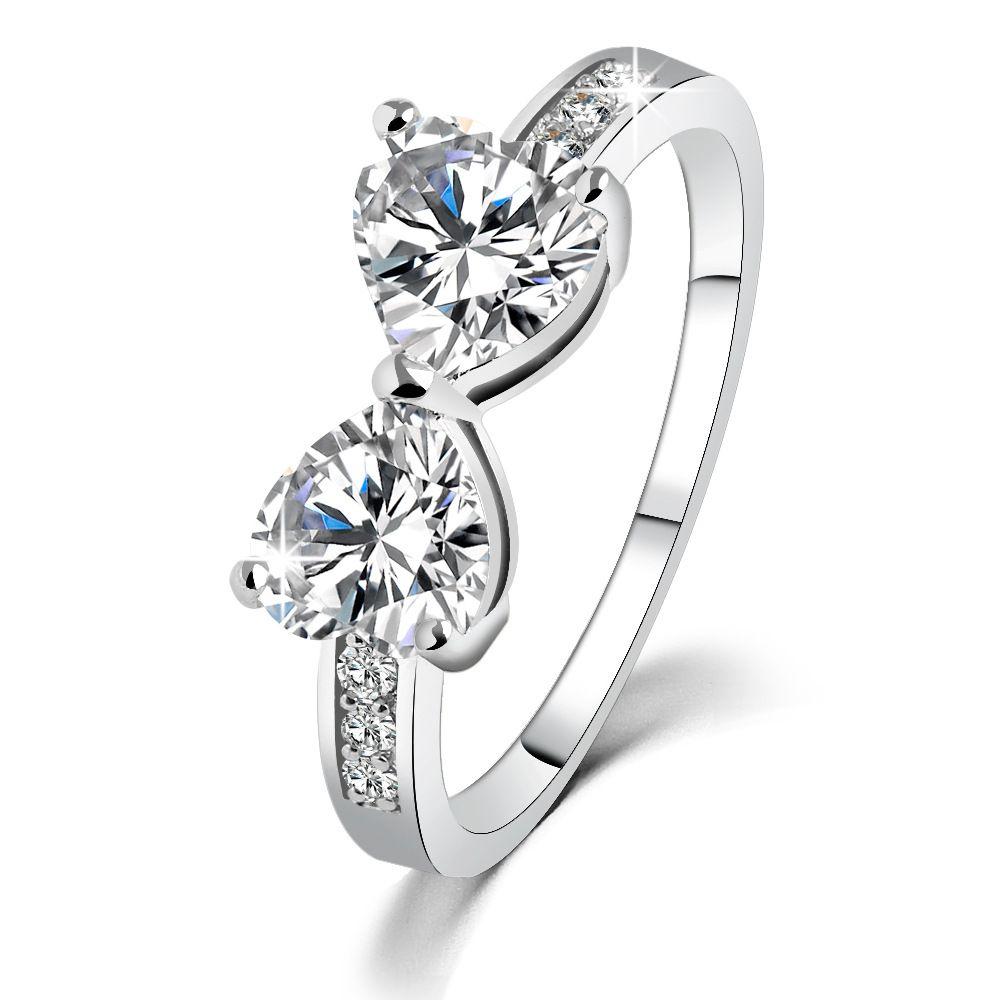 0c81e2c22 Wedding Rings Women China Wholesale Korean Fashion Costume Jewelry Cubic  Zirconia Rhinestone CZ Rings Heart Australian Crystal Diamond Rings Wedding  Ring ...